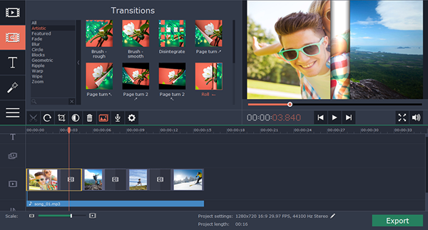 imovie for windows surface