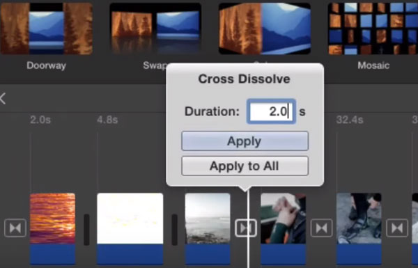 How to Add Transitions between Clips on Mac and Windows
