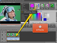 How to Use iMovie Green Screen Effect in Windows