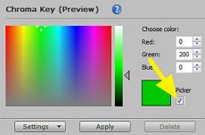 green screen editor