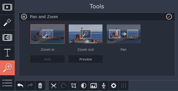 How to Zoom In/Zoom Out Video like iMovie in Windows