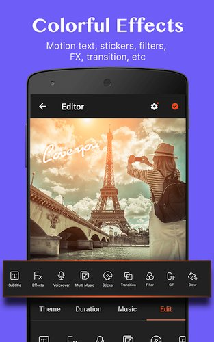 imovie for android videoshow