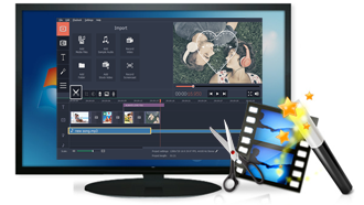 imovie like video editor windows